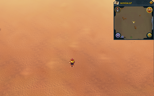 Scan clue Kharidian Desert north of most northeastern building in Nardah