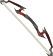 Zamorak bow detail
