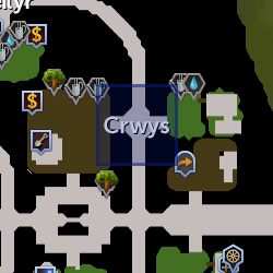 Crwys herald location