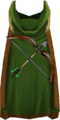 Hooded ranged cape (t) detail