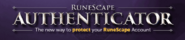 RS Authenticator lobby banner