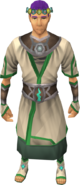 Vestments of Remembrance outfit equipped (male)