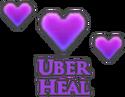 Uber heal hitsplat