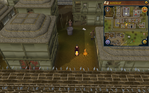 Scan clue West Ardougne south of the chapel