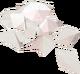 Crushed gem detail
