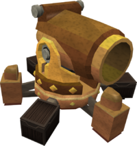Gold dwarf multicannon