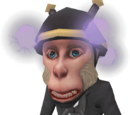 Mind-controlled monkey butler