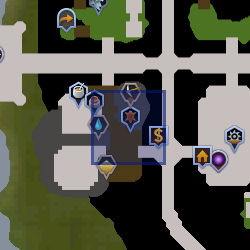 Tanner (Prifddinas) location