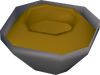 Half made toad bowl detail