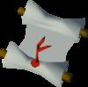 Mourner letter detail