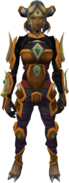 Ramokee outfit female equipped