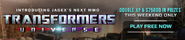 Transformers Universe lobby banner