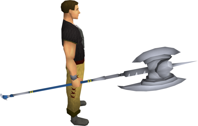File:White halberd equipped.png