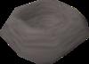 A stone bowl detail