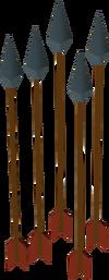 Wallasalkibane arrow detail