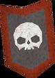 Heraldic kiteshield (Construction) detail