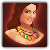 Lei necklace icon (female)