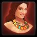 Lei necklace icon (female)