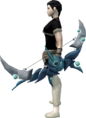 Lunarfury Bow (Tier 1) equipped.png
