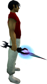 Wand of the praesul equipped