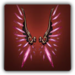 Crystalline wings icon