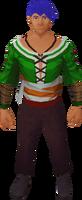 Waxed tunic