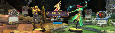 Chronicle Closed Beta head banner