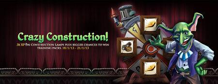 Crazy Construction banner