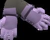 Swordfish gloves detail