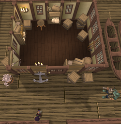 Fishing Guild Shop interior