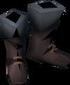 Colonist's boots (purple) detail