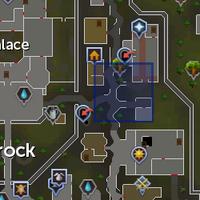 Ancient relic (Varrock) location