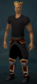 Crown of Loyalty (8 year) equipped