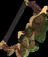 Elder shieldbow detail