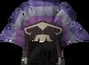 Samba headdress (purple, male) detail