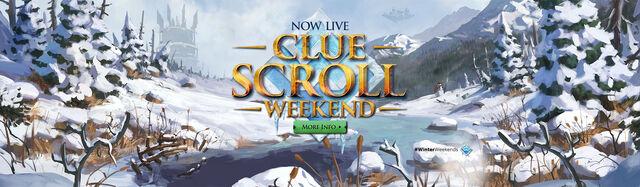 File:Clue Scroll Weekend head banner.jpg