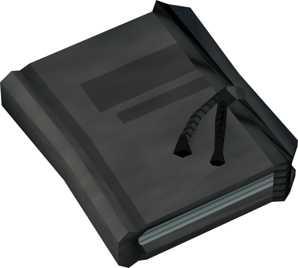 Investigator's notebook detail