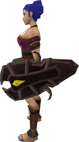 File:Megaleather shield equipped.png
