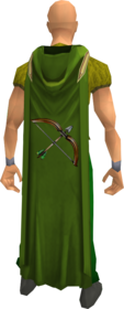 Hooded ranged cape equipped