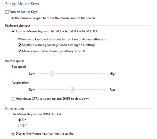 File:Mouse Keys Setup in Windows 8.png