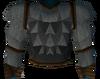 Werewolf torso (grey, male) detail