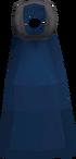 Blue cape detail