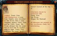 Party Pete Case Report 2