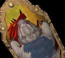 Anti-dragon shield (mole)