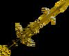 Golden Saradomin godsword detail