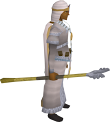 Armadyl crozier equipped