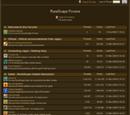 RuneScape Forums