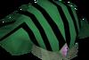 Pharaoh's nemes (green) detail
