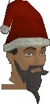 Santa hat chathead