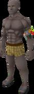Araxxor grey skin equipped